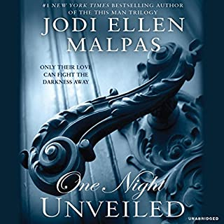 One Night: Unveiled audiobook cover art