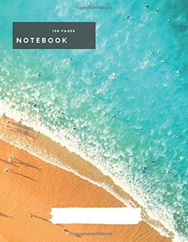 Lined Notebook and Journal: Book 100 lined pages college and school Journal for Teachers, Students, Kids and Teens meeting Notebook 8.5 x 11 size Diary Composition