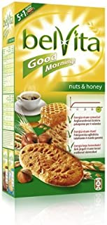 Belvita Honey And Nuts Biscuits 300 Gram - Pack of 6 by Belvita