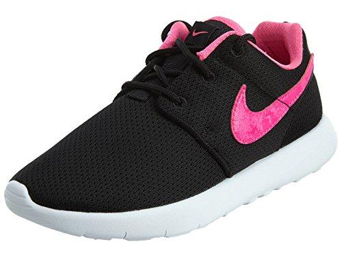 Nike Mädchen Roshe One (PS) Laufschuhe, Schwarz/Rosa/Weiß (Black Pink Blast White), 28.5 EU