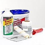 sopro ADS 630ducha baño Sellado Sellado Set abdicht Juego Glasdeals Junta Incluye instrucciones