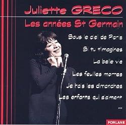 LES ANNÉES SAINT GERMAIN - Juliette Gréco - CD Album