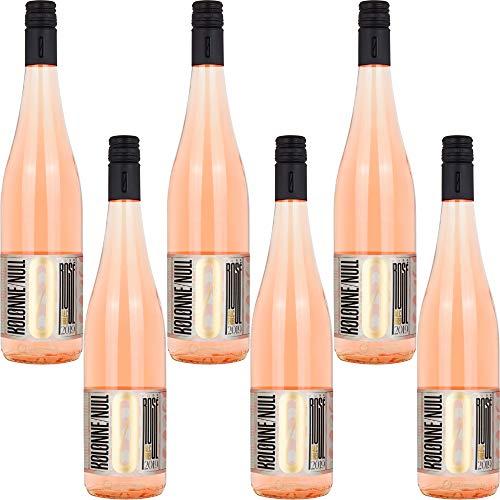 Kolonne Null- Alkoholfreier Rosé Stillwein - Edition Felix Mayer - 0% Vol. Alk. -6er Pack - 6x 0,75 L Flasche