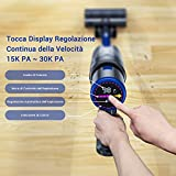 Zoom IMG-2 aspirapolvere senza fili buture 30kpa