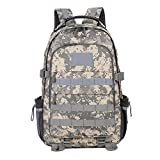Mochila al aire libre de 50 l de gran capacidad con múltiples bolsillos impermeable Oxford tela mochila para viajes camping senderismo equipaje mochila