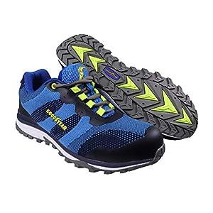 51UZtiw+6rL. SS300  - Goodyear Workwear GYSHU1573 - Zapatillas deportivas para hombre, ligeras, de seguridad, deportivas, no metálicas, punta compuesta, entresuela S1P/SRA, 7/41, azul, 1