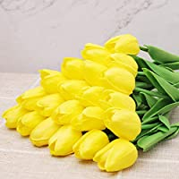 10pcsチューリップ母の日 花 花束 造花 プレゼント ギフト 石鹼花 石鹼フラワー 贈り物 ギフト 敬老の日 開店祝い 誕生日 記念日 お見舞い 感謝 お礼 ギフト (Color : 1)
