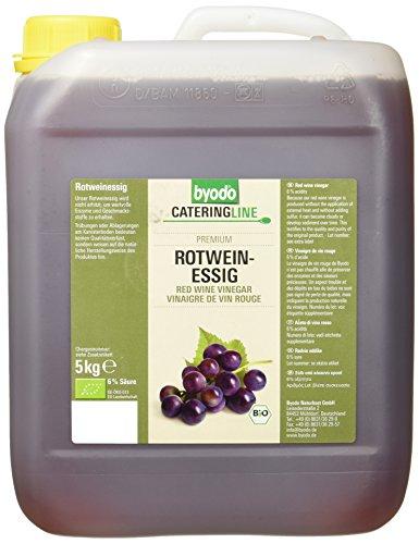Byodo Rotweinessig 6% Säure, 1er Pack (1 x 5 kg Kanister) - Bio