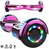 Magic Vida Skateboard Électrique 6.5 Pouces Bluetooth Puissance 700W avec Pneu à...