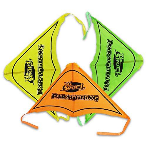 Abschießflieger Gleitschirm mit Katapult Flieger Gleitschirm Gleitflieger