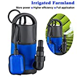 1 HP Sump Pumps Submersible Water Pump Electric Transfer Water Pump for Pool...