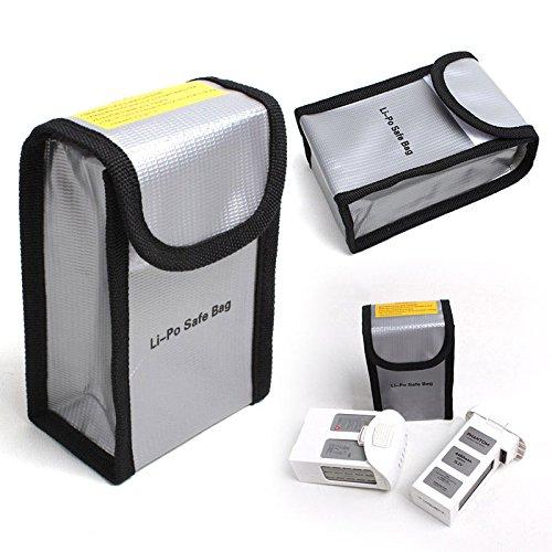 Flycoo LiPo Bag Borse di Sicurezza a Prova di Fuoco Batterie Safe Guard per DJI DJI Phantom 3 4 4Pro 4Pro + Batterie (1 Pezzo)