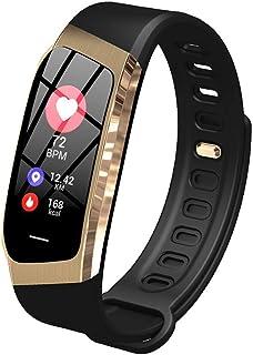 Reloj Deportivo Step Tracker de 0,96 Pulgadas Smart Band Calorie (Color: Dorado)