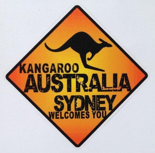 トラベルステッカー オーストラリア 旅行シール~スーツケース・タブレットPCに