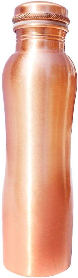 Bottiglia per acqua in rame a prova di perdite PRURA in puro rame ayurvedico 900ml//30oz Design 3