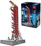 Technik 3586 Piezas Modelo Montaje La Serie Aeroespacial, Plataforma De Lanzamiento Apollo Modelo Soporte Exhibición Bloques De Construcción Para Lego Apollo Saturn V Space Rocket,