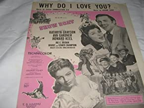 Best why do i love you sheet music Reviews