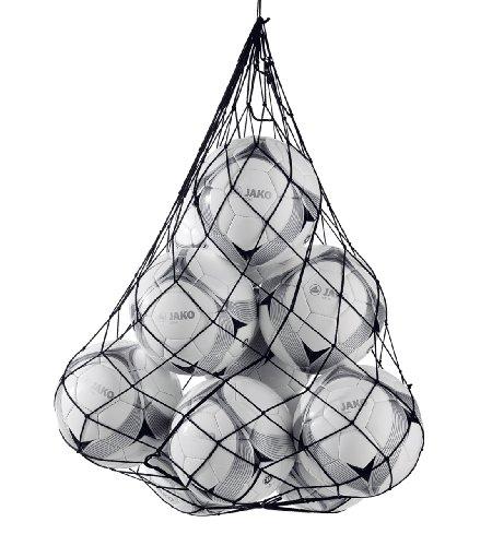 JAKO Herren Fußball Ballnetz, Schwarz, Standart
