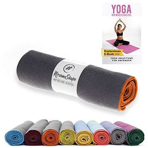 NirvanaShape ® Toalla Yoga Antideslizante | Toalla