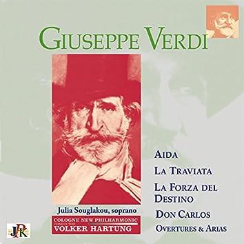 Verdi: Overtures & Arias – La traviata, Aïda, La forza del destino & Don Carlos