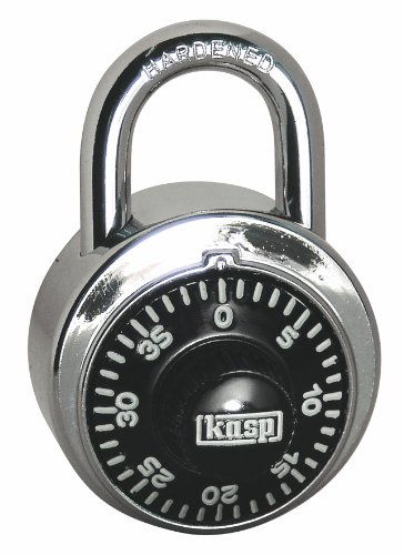 Kasp K11548D Zahlenschloss rund