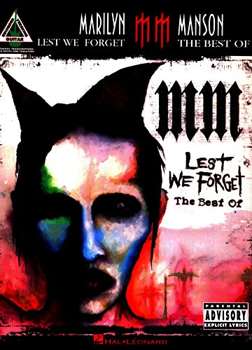 Marilyn Manson - Lest We Forget: The Best of Songbook (English Edition)