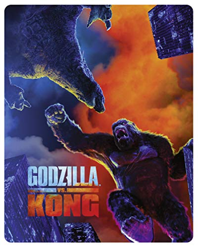 Godzilla vs. Kong [Amazon Exclusive Steelbook] [UHD] [2021] [Blu-ray] [Region Free]