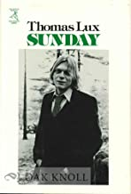 Sunday: Poems (The Houghton Mifflin new poetry series)