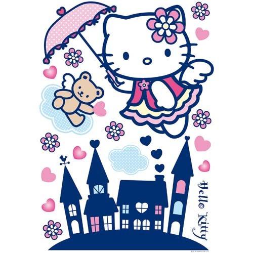 Maxi stickers muraux Hello Kitty 70x100cm