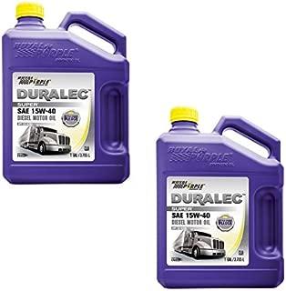 Royal Purple Duralec Ultra 15W40 Motor Oil - 1 Gallon Bottle (Case of 2)
