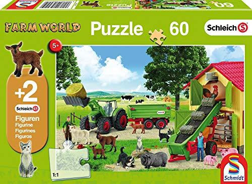 Hooitijd op de boerderij, 60 stukjes Puzzel