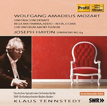 Mozart: Sinfonia Concertante - Bella mia fiamma - Cor sincerum amore plenum - Haydn: Symphony No. 64