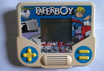 1988 Tiger Electronics, Inc. Tiger Electronics Electronic Paperboy LCD Interactive Hand-held Game (Copyright 1984 Tengen. All Rights Reserved. Trademark Atari Games Corporation) by Tiger Electronics, Inc. Tiger Electronics