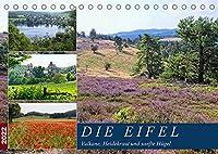 Die Eifel - Vulkane, Heidekraut und sanfte Huegel (Tischkalender 2022 DIN A5 quer): Vielfaeltige Landschaften mit vulkanischem Ursprung (Monatskalender, 14 Seiten )