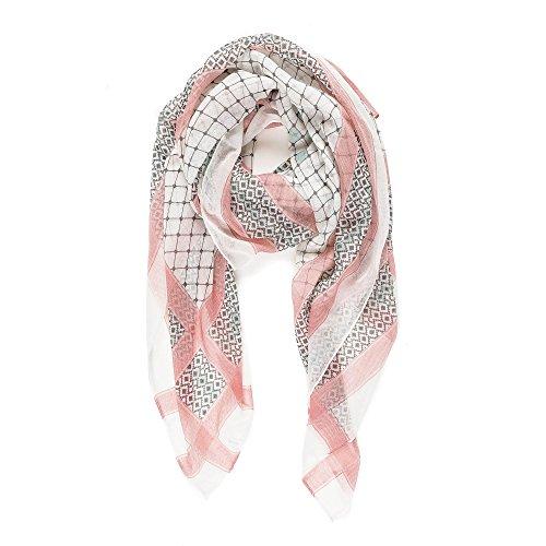 Scarf for Women Lightweight Geometric Fashion Fall Winter Scarves Shawl Wraps
