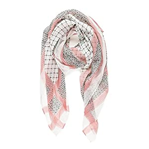 Scarf for Women Lightweight Geometric Fashion Spring Summer Scarves Shawl Wraps