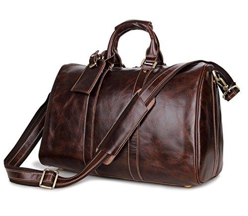 rtzll européenne et américaine vintage homme en cuir grain de Fallen bagages à main poches Voyage poches