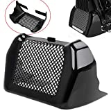 Bid4ze Motorcycle Engine Oil Cooler Cover Case with Bracket Fit for Harley Touring Road King Road Street Glide Freewheeler FLHR FLHX 2017-2020 Black