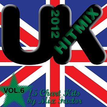 U.K. Hit Mix - 2012 - Vol. 6 (15 Chart Hits)