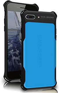 WK DESIGN iPhone 7 Plus case Heavy Duty Protection Shock Reduction Bumper Case for iPhone 7 Plus Cover(Blue)