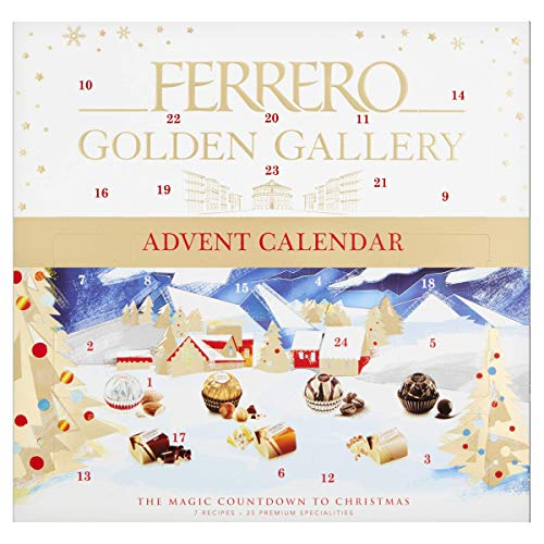 Ferrero Golden Gallery Adventskalender, 230 g