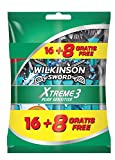 Wilkinson Sword Xtreme 3 Pure Sensitive - Maquinilla de afei