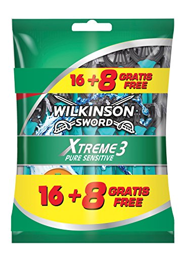Wilkinson Sword Xtreme 3 Pure Sensitive - Maquinilla de