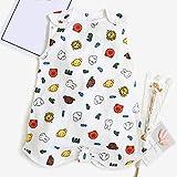 HELIn Babyschlafsack - ärmelloser Sommer Frühling Herbst 0-6 Jahre alte Reine Baumwolle 95% und mehr 4 Schichten vorne 2 Schichten hinten Unisex Baby Safe Sleep (Color : C, Size : XL)