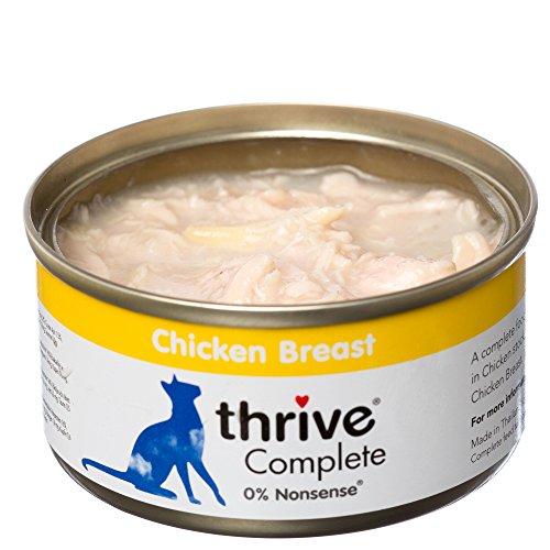 thrive Katze COMPLETE - 100% Hühnerbrust (12-er Pack)