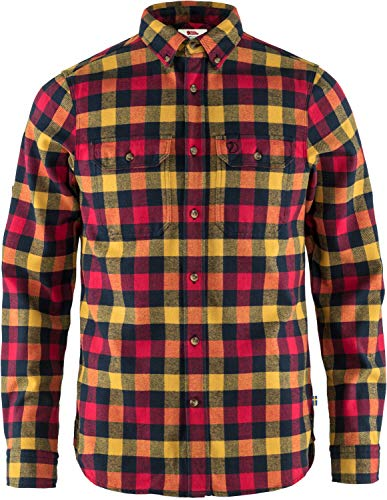 Fjällräven Herren Skog Shirt M Hemd, rot, 2XL
