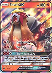 Name: Entei-GX - 10/73 Set: Shining Legends