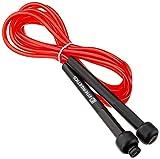 Energetics Skip Rope - Comba para saltar, talla única, color rojo