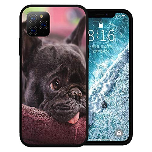 Silicone Case for iPhone 6s and iPhone 6, French Bulldog Cute Pet Phone Case Full Body Protection Shockproof Anti-Scratch Drop Protection Cover