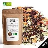 Tisane Bio  Tisane pour le soir  Tisanes en Vrac  Sachet 100 grammes avec Zip  40 Tasses  100 % Agriculture Biologique  Tisanes Qualité  Satisfait ou Remboursé